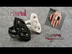 Macrame Celtic Ring ♥ How To Make Celtic Knot ♥ Macrame Magic Knots - YouTube