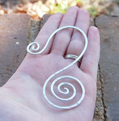Aluminum Silver Spiral Bookmark by Karismabykarajewelry on Etsy