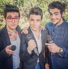 Piero, Gianluca and Ignazio