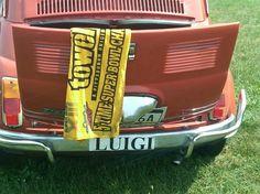 Luigi's Fiat. He's a Steeler Fan BTW