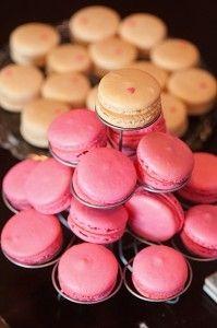 #macaron #heart #pink #vanilla #party