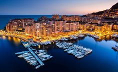 Tiny countries to discover Monaco This microstate is a haven for those who crave a busy nightlife - Monte Carlo Casino is one of the most famous gambling complexes in the world. Cannes, Monaco, Tax Haven, Bank Of America, Night City, French Riviera, Monte Carlo, Vacation Spots, Vacation Destinations
