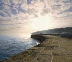 The Cobb at Lyme Regis - known from teh film The French Lieutenant's Woman
