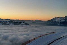 Wolkenmeer in Oberndorf in Tirol – Bild des Monats Jänner 2018