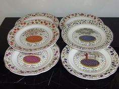 Gien China & Dinnerware for sale China Dinnerware, Salad Plates, Your Favorite, Decorative Plates, Pottery, Tableware, Home Decor, Pie, Ceramica
