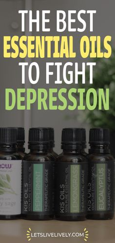 Essential Oils can fight depression naturally. Depression is a serious mental health condition and although its important to seek help there are some natural depression remedies that can ease the side effects. Check out these 6 different essential oils that can help fight depression right now.