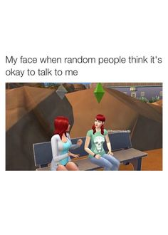 Sims 4 facial expressions is hilarious