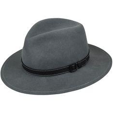 b109a7772 Wilmer Litefelt Fedora Natural Leather, Fedoras, Fedora Hat, Natural Skin