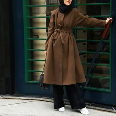 Hijab Casual, Hijab Chic, Casual Wear, Casual Outfits, Hijab Dress, Hijab Outfit, I Love Fashion, Winter Fashion, Hijab Fashion