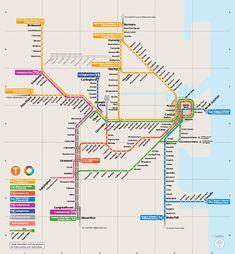 Die #U-Bahn von #Sydney ist kein konventionelles U-Bahnsystem, sondern unterirdische Erweiterungen, die zur vorstädtischen Bahnlinie hinzugefügt wurden. Der Besitzer dieses Netzwerks ist Railcorp Sydney und fast alle Sektionen werden von den Sydney Zügen operiert.