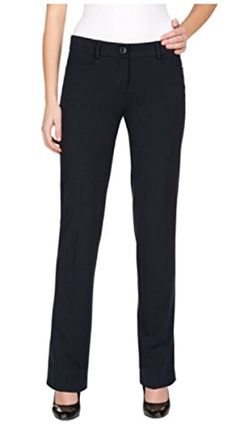 0e7d8166581 Buy Womens Straight Leg- Flat Front Dress Pant - Navy - and Find More From  Our Large Selection of Women s Pants With Big Discount.