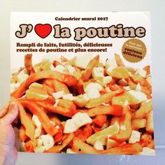 just received a nice gift from #quebec #poutine
