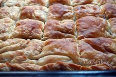 Greek Desserts, Greek Recipes, Food Network Recipes, Cooking Recipes, Greek Pastries, Greek Cooking, Greek Dishes, Savoury Baking, Appetisers