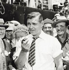 "Clark Gable en ""Key to the City"", 1950"
