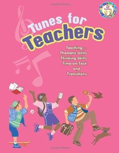 Thematic Units, Transitions, Calendar Time, Attention Grabbers all included in the book Tunes/Teachers  Written BY A TEACHER who used the songs and chants in her classroom for many years before putting them on paper and having them published!  There are songs for: Thematic Units Science Language Arts Math  Chants and songs to help with: Transitions to and from centers Cleaning up Preparation for transitioning to and from other places in your building Transitions to and from specials Going…