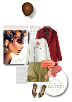 """autumn flower"" by drn57 ❤ liked on Polyvore featuring Alexander McQueen, J.Crew and Chloé"