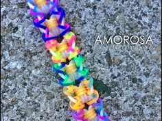 This is a hooked design. No loom needed.    *Zuzu*  AMOROSA Hook Only bracelet design