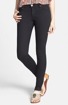Free shipping and returns on STS Blue Stretch Skinny Jeans (Black) (Juniors) at Nordstrom.com. Go-to skinny jeans are stretch-woven for comfort and rinsed in a deep black wash.