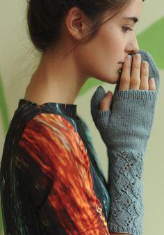 Knit mittens pattern