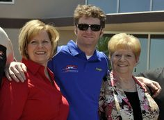 Dale with mom, and grandma