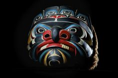 When you have completed your art piece, take a photo of your finished and turn it in to Canvas . Native American Masks, Native American Artwork, American Indian Art, Human Body Art, Tlingit, Masks Art, Indigenous Art, Native Art, First Nations