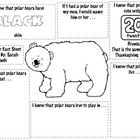 Teachers can use this Polar Bear Facts form to document and share student learning with parents after completing a unit on Polar Bears.  The sheet ...