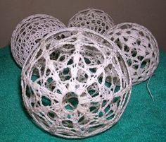 palle di natale | Hobby lavori femminili - ricamo - uncinetto - maglia