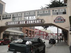 Monterey California Cannery Row, Monterey Bay Aquarium, Monterey California, Carmel By The Sea, Pebble Beach, Big Sur, Wonderful Time, Places Ive Been, The Row