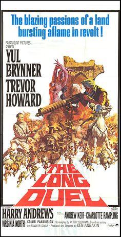 The Long Duel (1967) Stars: Yul Brynner, Trevor Howard, Harry Andrews, Andrew Keir, Charlotte Rampling ~  Director: Ken Annakin