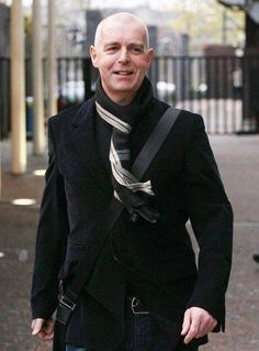 Neil Tennant of The Pet Shop Boys