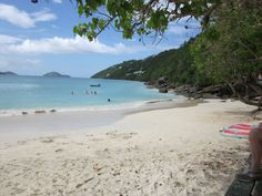 Megan's Bay, St. Thomas.  One of the most beautiful places I have ever been to.