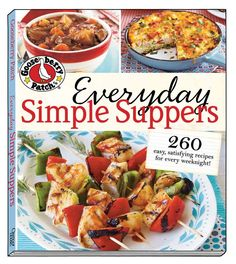 Everyday Simple Suppers @Fiona I Like Gooseberries Patch  Cookbook Giveaway from @SusieQTpies Cafe Cafe