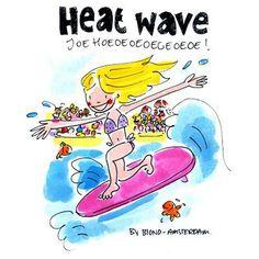 Heat Wave by Blond Amsterdam Blond Amsterdam, Blonde Humor, Beauty Tips For Women, No Heat Hairstyles, Hair Styles, Wave, Junk Journal, Bullet Journal, Chalkboard