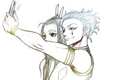 Hisoka and Illumi     ~Hunter X Hunter