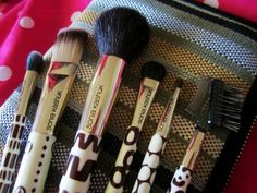 Sonia kashuk- I have this set, these are my go-to brushes