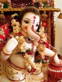Shri Ganesh! Ganesha Baby Ganesha, Lord Ganesha, Lord Shiva, Baby Krishna, Hindu Deities, Hinduism, Bollywood Stars, Ganesha Sketch, Navratri Wallpaper