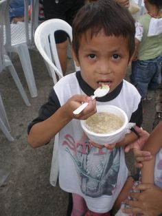 One of the children enrolled in the Jessica's Table program in Malis
