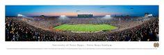 Notre Dame, University Of - 50 Yard Line 40x13.5 Panoramic Photo