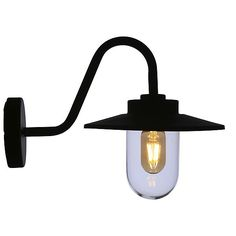Stylish steel lantern that looks good on the exterior of your house. Outdoor wall light, perfect for the porch, garage, shed or barn. An ornate, vintage-look feature for your exterior wall. Wall Lights, Ceiling Lights, Outdoor Wall Lighting, Lighting Ideas, Lanterns, Vintage, Home Decor, Cats, Farmhouse