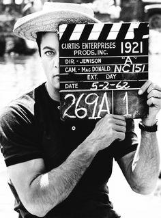 """ Tony Curtis ""Forty Pounds of Trouble"" | Hollywood  © Leo Fuchs 1962 via http://hollywoodlady.tumblr.com/ """