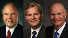3 New members of the Quorum of the Twelve Apostles of the Church of Jesus Christ of Latter-day Saints.