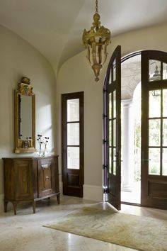 Architect Portfolio by Harrison Design - Dering Hall Entryway Stairs, Entry Foyer, Decorating Your Home, Interior Decorating, Interior Ideas, Arch Doorway, Harrison Design, Natural Selection, Atlanta Homes