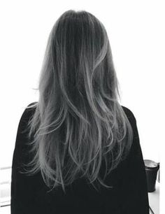 8 pretty pictures that will convince you to try the gray ombre trend want to add some silver ombre to your dark hair visit our page for grey ombre hair dyeing tips and a look at 21 sophisticated black to grey ombre solutioingenieria Gallery