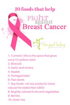 foods to prevent cancer, breast cancer prevention