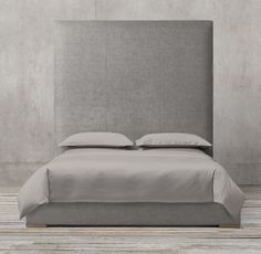 Lawson Panel Non-Tufted Fabric Bed
