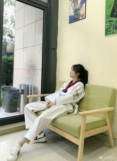 Taekwondo Girl, Karate Girl, Ulzzang Korean Girl, Cute Korean Girl, Cute Girls, Cool Girl, Uzzlang Girl, Asia Girl, Aesthetic Girl