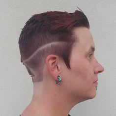 By Erik Lindström at Voltage Salon in Fort Collins, CO. www.eriklindstromhair.com . ✂️️💈🖌️Hairstylist / Colorist / Dreadlock Artist ⚧⚨♁Specializes in Transgender & Queer Hair 🌈LGBTQ+ Friendly .  instagram.com/erik_voltagesalon .  facebook.com/erikvoltagesalon .  erik-voltagesalon.tumblr.com twitter.com/erik_voltage . #fortcollins #fortcollinshair #denverhair #hair #hairstylist #hairporn #hairgoals #hairideas #hairfashion #modernsalon #rawartist #kevinmurphy #erik_voltagesalon #voltagesalon Queer Hair, Kevin Murphy, Fort Collins, Short Cuts, Androgynous, Transgender, Hair Goals, Salons, Diamond Earrings