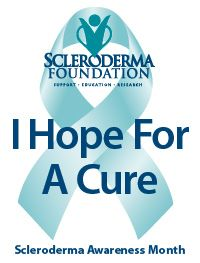 June is Scleroderma Awareness Month be supportive read my story about scleroderma at margiekugler.com