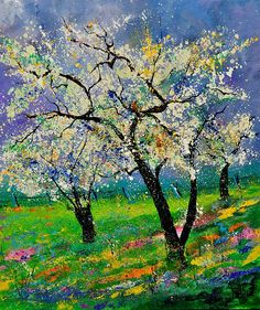 Spring 781110 Painting by Pol Ledent