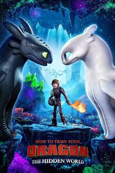 Universal has released the first How to Train Your Dragon 3 poster; How to Train Your Dragon: The Hidden World features the voice of Jay Baruchel. Jay Baruchel, Dragons Le Film, Dragons 3, Hiccup And Toothless, Httyd 3, Toothless Dragon, Hiccup And Astrid, Dreamworks Animation, Animation Movies